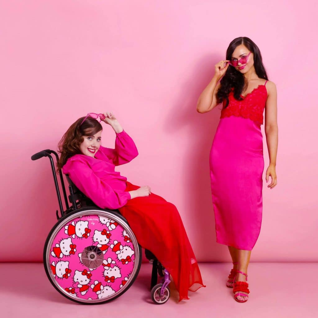 izzy wheels collaboration with hello kitty on the happy list