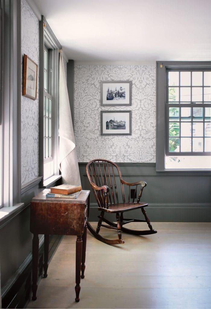 hein cozzi provincetown house burlap window treatments via remodelista on the happy list