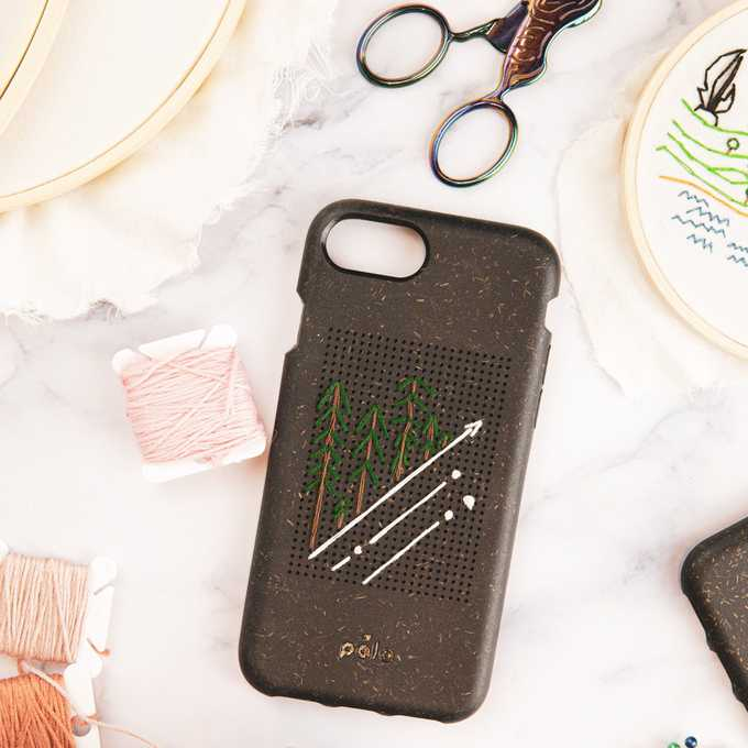 pela embroidered phone case on the happy list