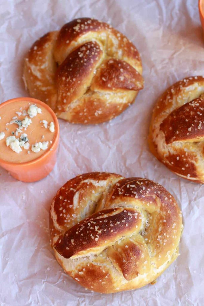 soft pretzels from half baked harvest on the happy list