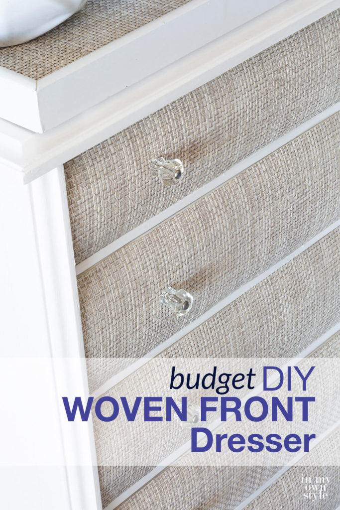 woven front to nightstand by in my own style on the happy list