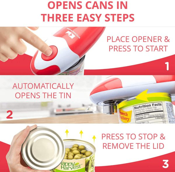 kitchen mama electric can opener on amazon