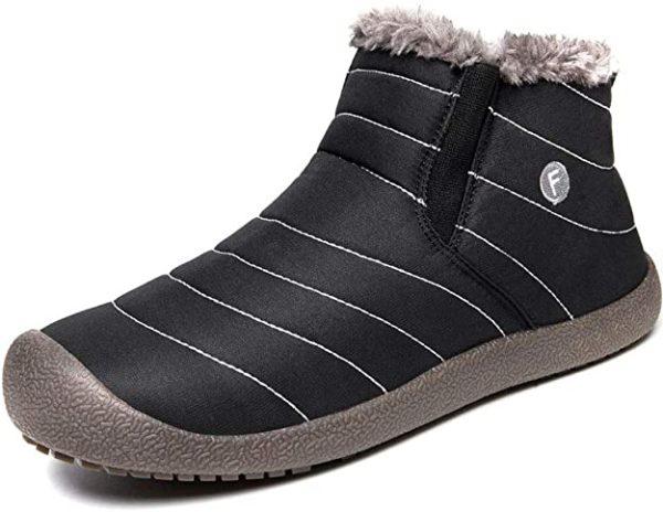 Eagsouni winter slip on shoes
