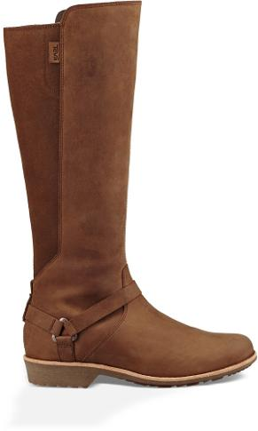 Teva Women's DE LA Vina Dos Tall Boot, Bison