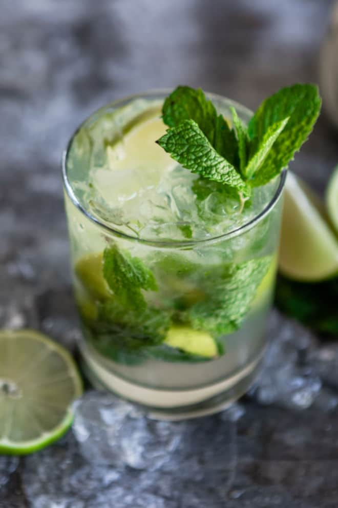 mojito cocktail by culinary hill on the happy list