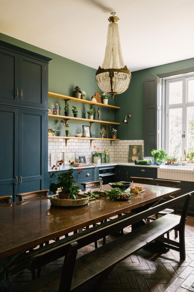 DeVol Kitchen with copper table on the happy list