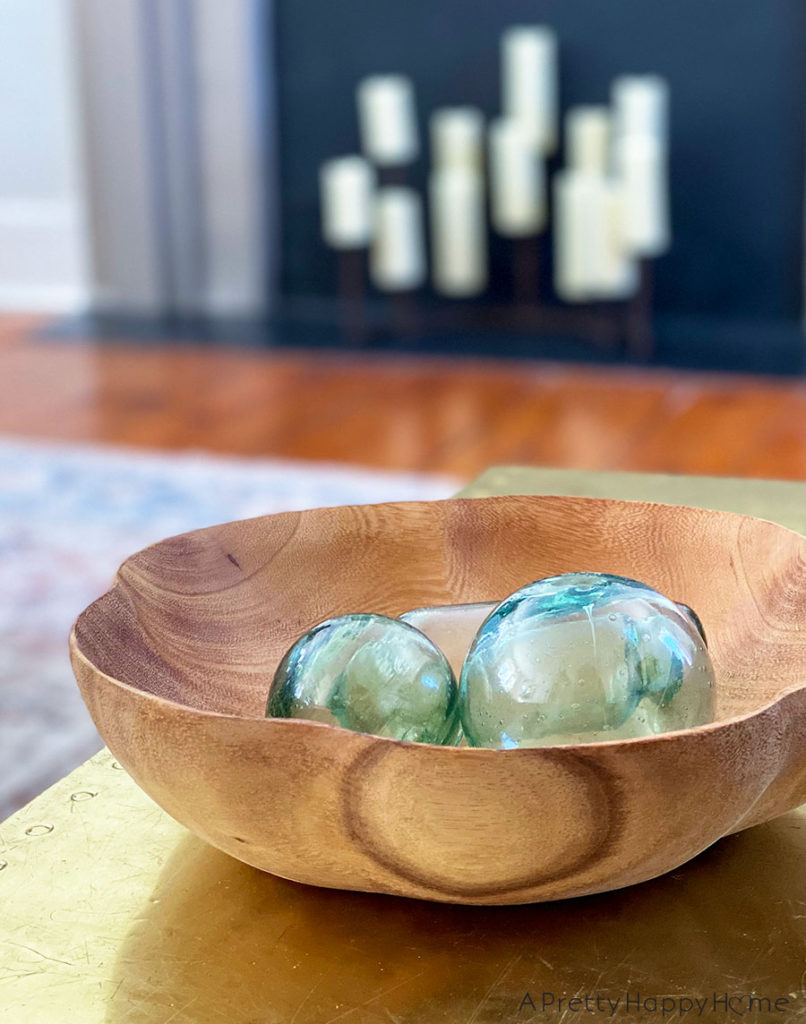 wood bowl makeover