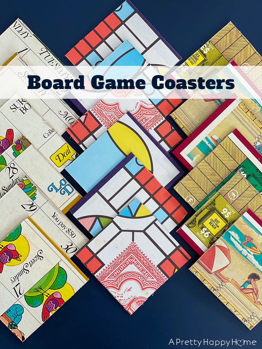 DIY board game coasters