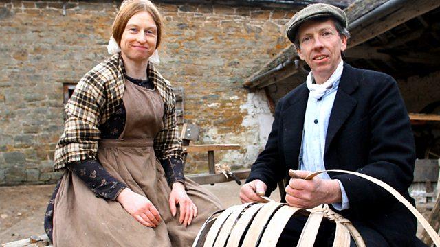 victorian farm via the BBC on the happy list