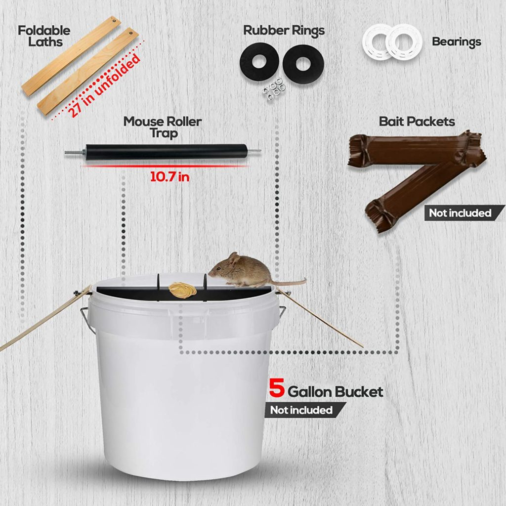 rolling mouse catch kit on amazon