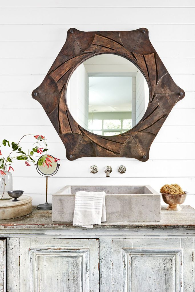 wood mirror country living magazine by brian woodcock