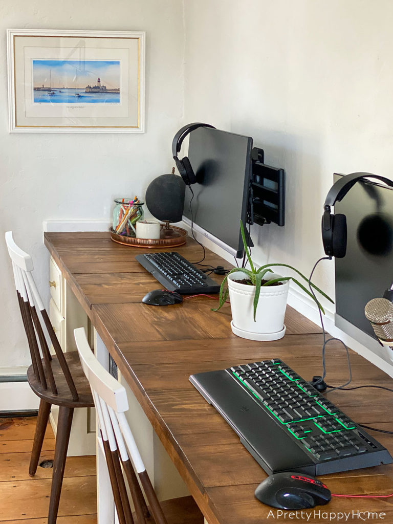 Built-In Computer Desks One Year Later