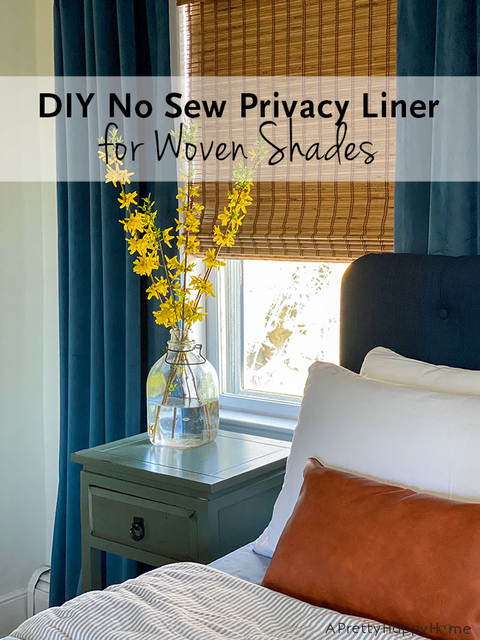 diu no sew privacy liner for woven shades