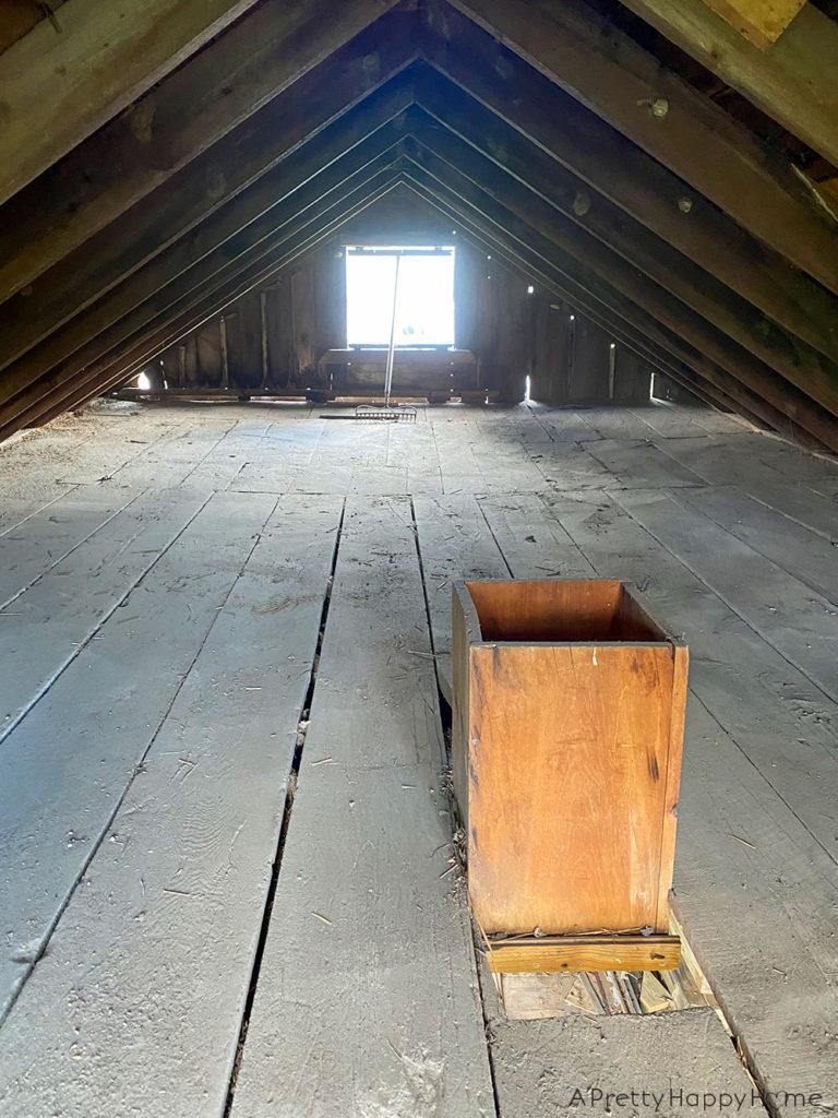 barn loft clean out