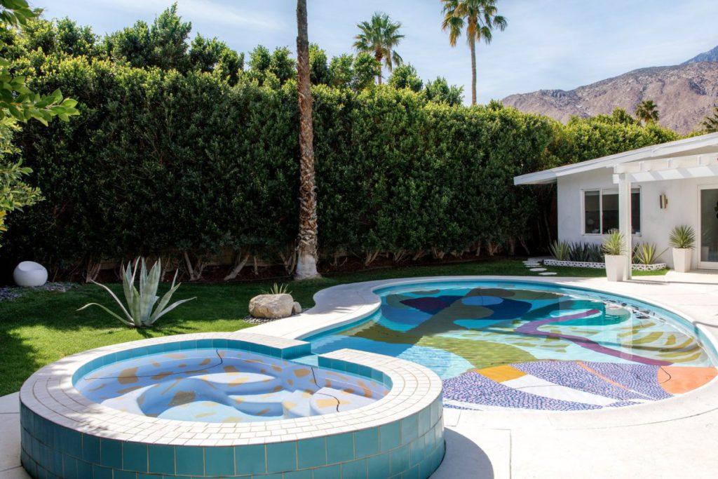 hill house pool by alex proba via dozen on the happy list