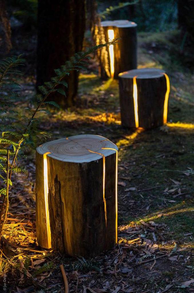 duncan meerding cracked log lamps via my modern met on the happy list