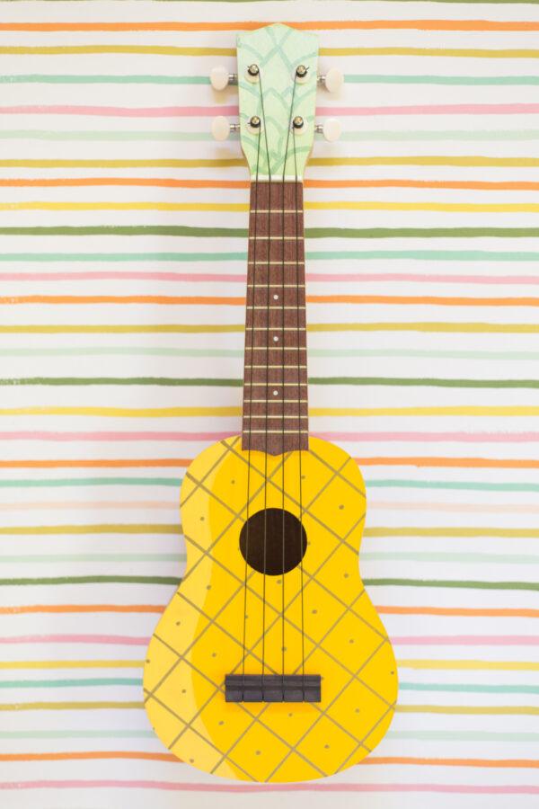 chelsea foy lovely indeed pineapple ukulele on the happy list