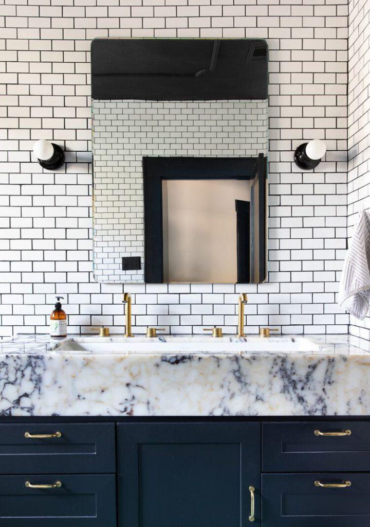 bathroom mary patton design via my domaine on the happy list
