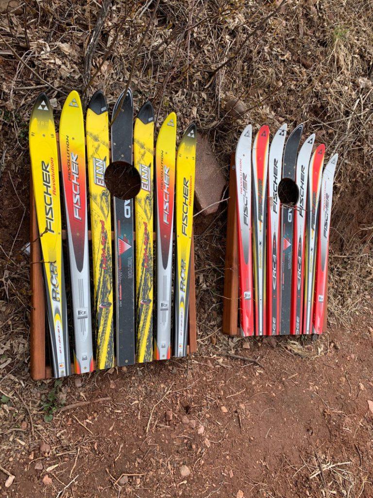 ski cornhole colorado ski chairs via etsy on the happy list