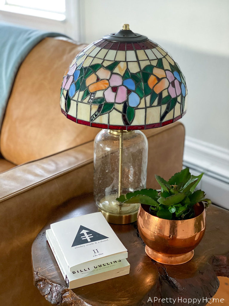 3 Reasons to Love Tiffany Style Lights tiffany style lampshade on modern lamp base