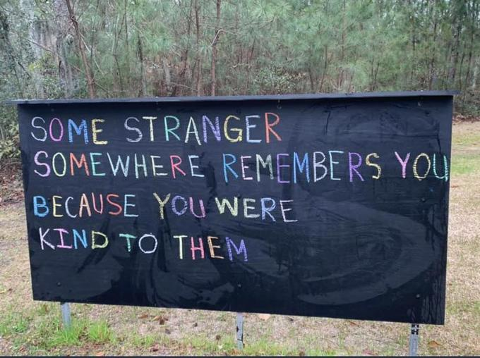 some stranger remembers you via wholesome memes on the happy list