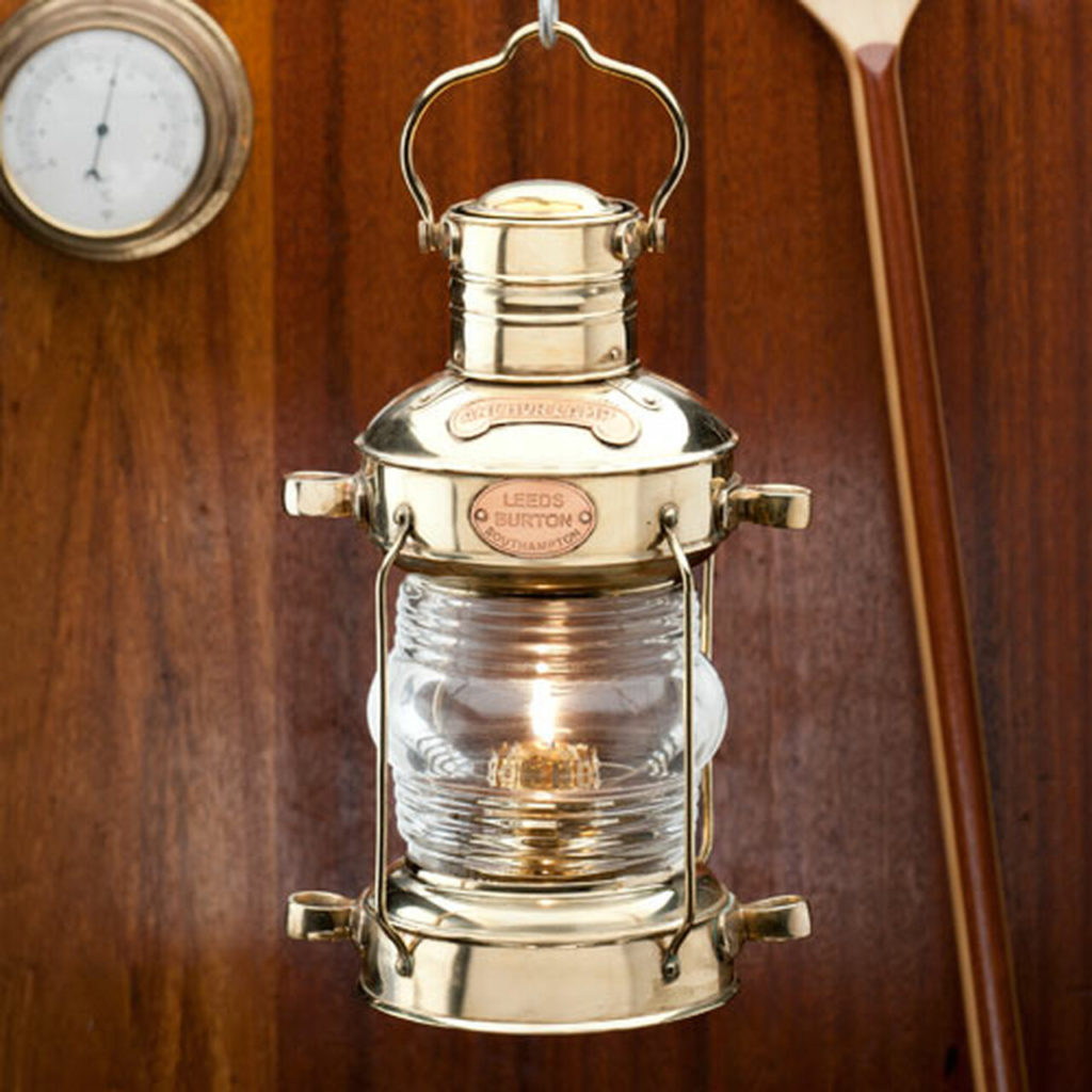 brass nautical oil lamp garrett wade in praise of oil lamps