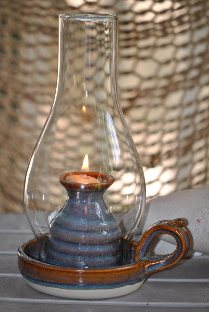 hertz pottery oil lamp on etsy in praise of oil lamps
