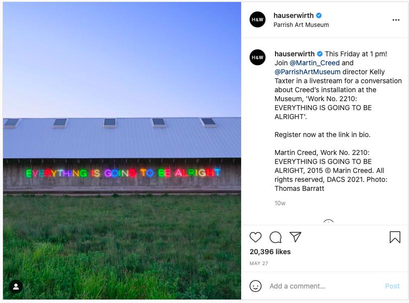 parrish art museum instagram
