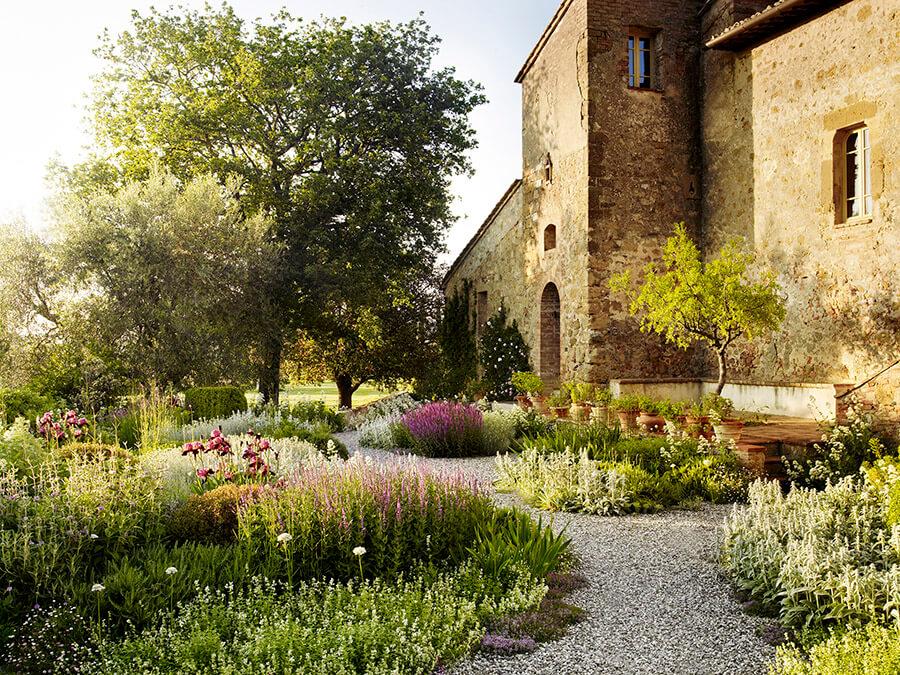 tuscany landscape designer Luciano Giubbilei via desire to inspire on the happy list