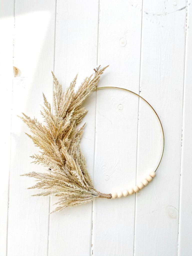 hoops by rae etsy fall wreath wheat 13 Fall Wreaths