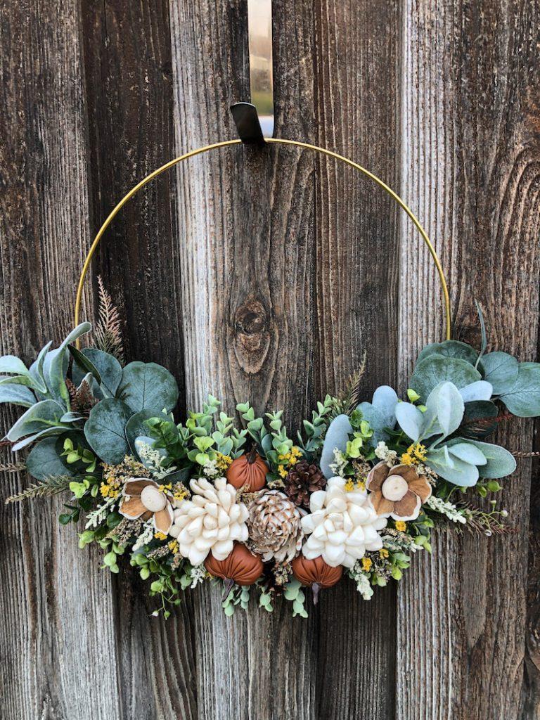 tru love blooms wreath etsy fall wreath 13 Fall Wreaths
