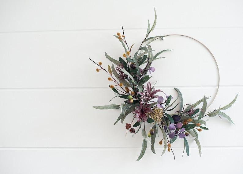 mod sugar design via etsy fall wreath
