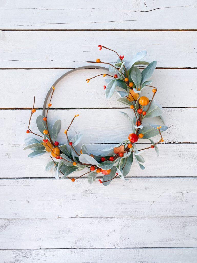 fostering joy etsy fall wreath 13 Fall Wreaths