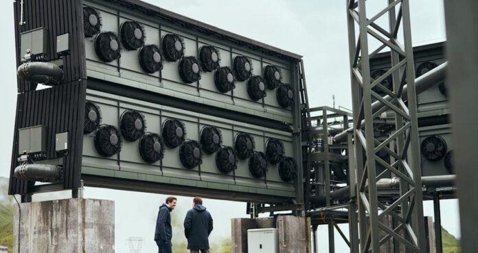 carbfix carbon capture factory via good news network on the happy list