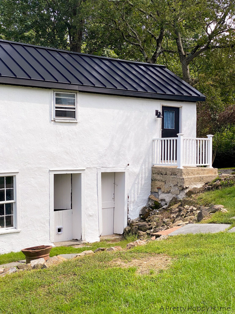 Painted Carriage House