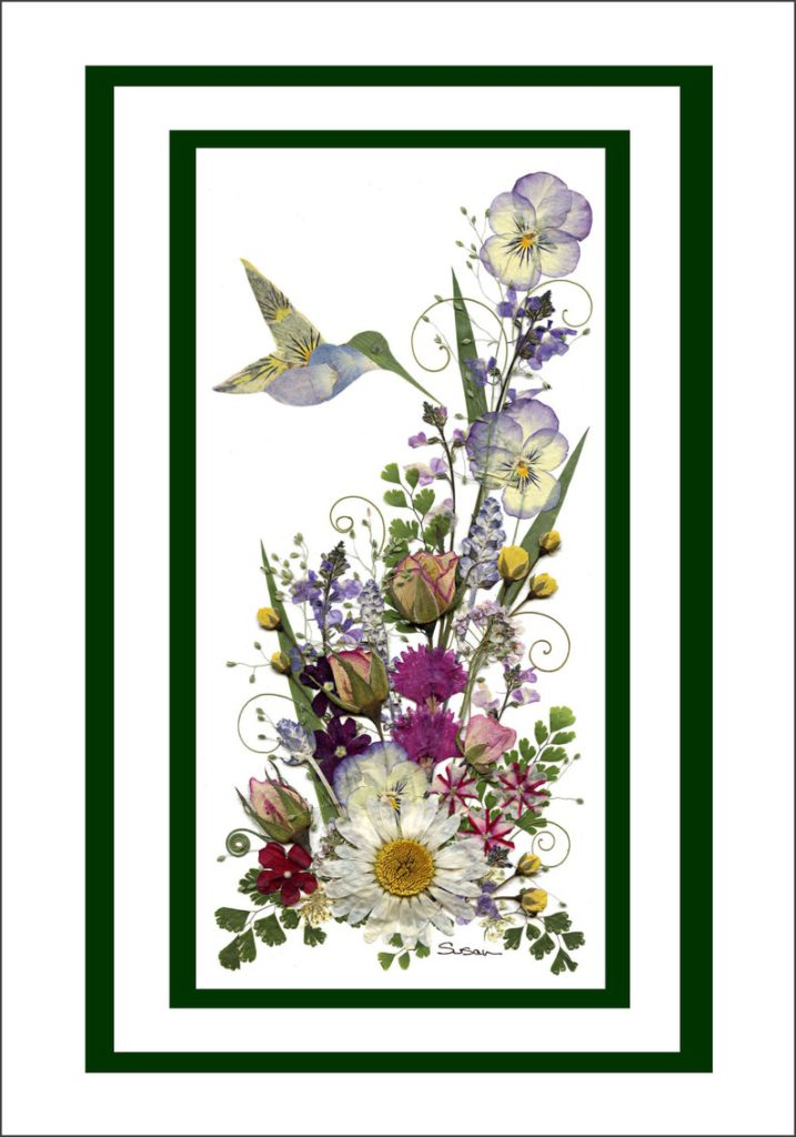 susans pressed flowers etsy pressed flower art