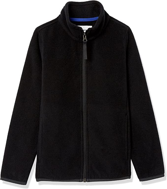amazon basics boys fleece jacket on the happy list
